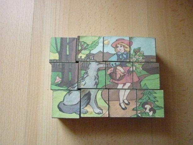 Klocki PRL puzzle układanka
