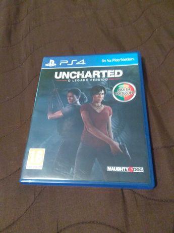 Uncharted o legado perdido ps4