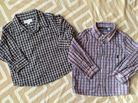 Рубашка H&M 74р, 86р