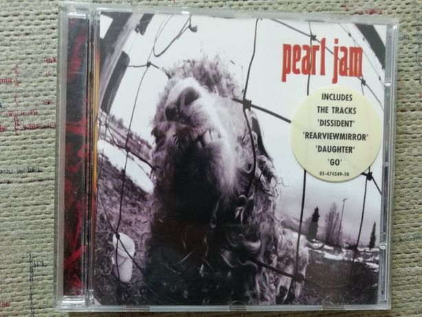 "Pearl Jam ""Vs."" CD"