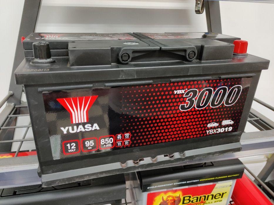 Akumulator YUASA YBX3019 12V 95Ah 850A P+ Kraków