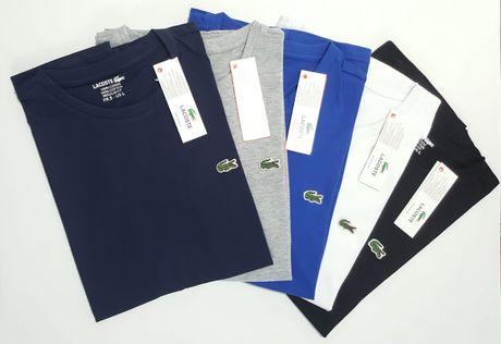 Nowe koszulki LACOSTE ! S M L XL XXL - 5 kolorów ! Koszulka meska