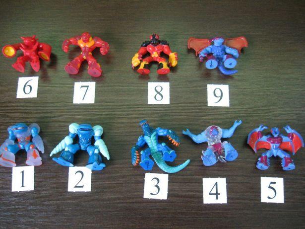 Zestaw 2 Figurki Gormiti - 9 sztuk