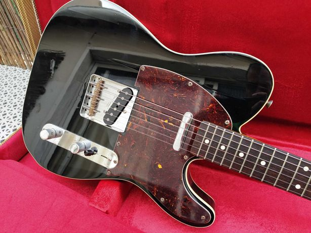 Fender Telecaster '62 RI, Piano Black, Fully Bound, Crafted in Japan