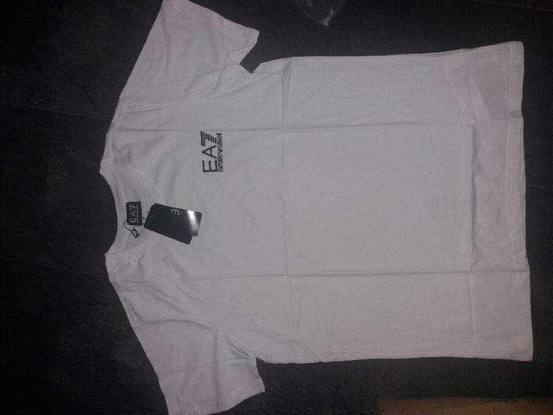 Biała koszulka Armaniego