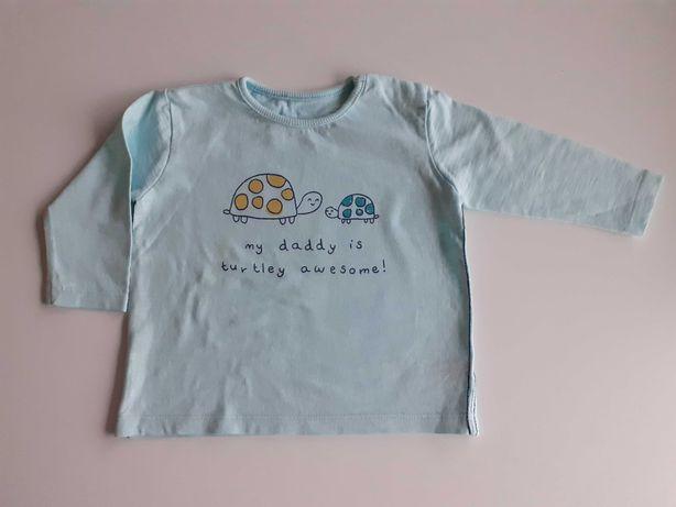 Koszulka z dlugim rekawkiem w zolwiki
