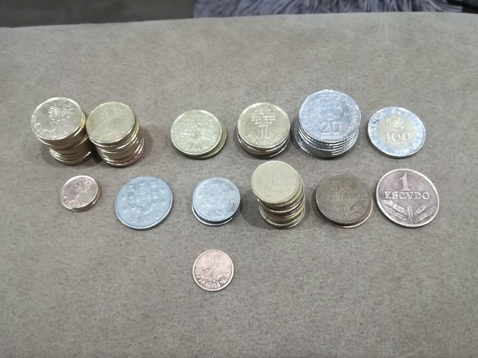 Lote de 60 moedas