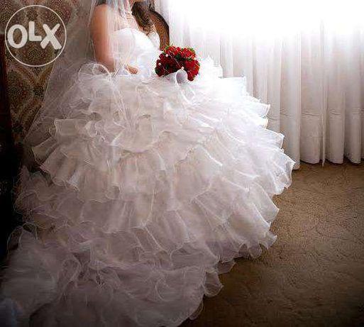 Vendo vestido de noiva como novo