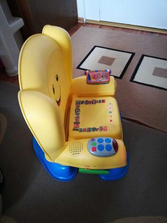Krzesełko uczydelko Fischer Price