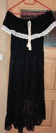 Sukienka letnia czarna