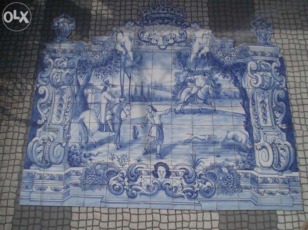 Azulejos tradicionais portugueses