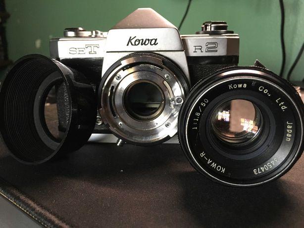 KOWA SE-T R2 + Lente KOWA 50mm (RARIDADE) máquina analógica de rolo 35