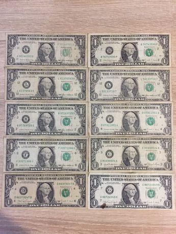 доллар 1981-1988 год