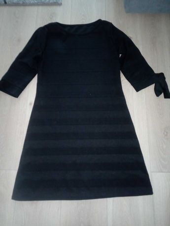 Sukienka czarna rozm uniwersalny