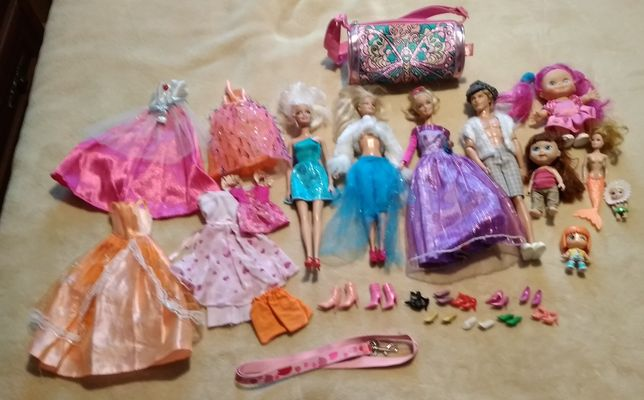 Lalki Barbie, kucyki oraz inne