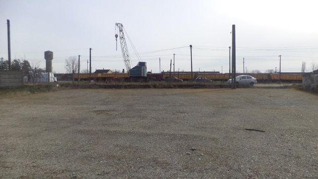 Участок платформа склад Граница Румынии
