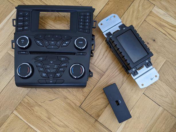 SYNC1 panel klimatyzacji wyświetlacz HUB  mondeo mk5 fusion