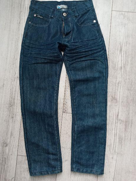 Spodnie jeans 146/152 j.nowe blue moon