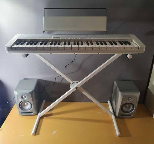 Белое пианино синтезатор Casio CT-S1 c белым стендом.  Консультация