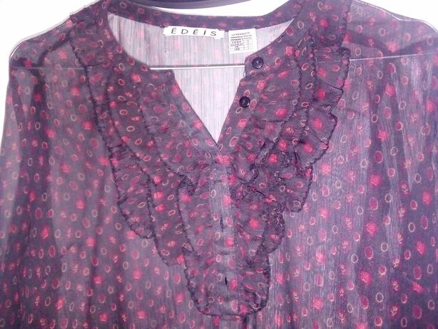 Blusa transparente (como nova)