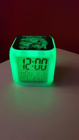 Budzik zegarek Minecraft