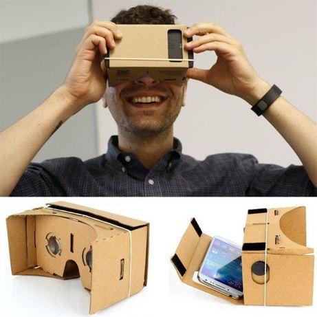 T316 Óculos de Realidade Virtual VR Google Cardboard Novo!