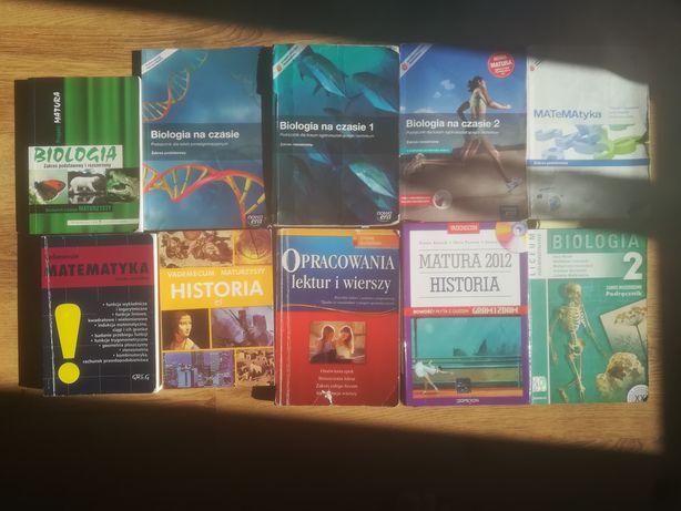 Książki/podręczniki szkolne szkoła średnia i inne