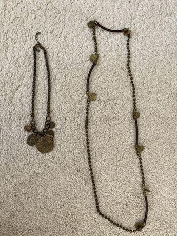 Fio colar medalhas Pedra Dura
