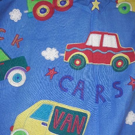 Zasłonki do pokoju dziecięcego zasłonki dla chłopca autka cars Disney