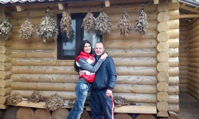 Баня на дровах русская