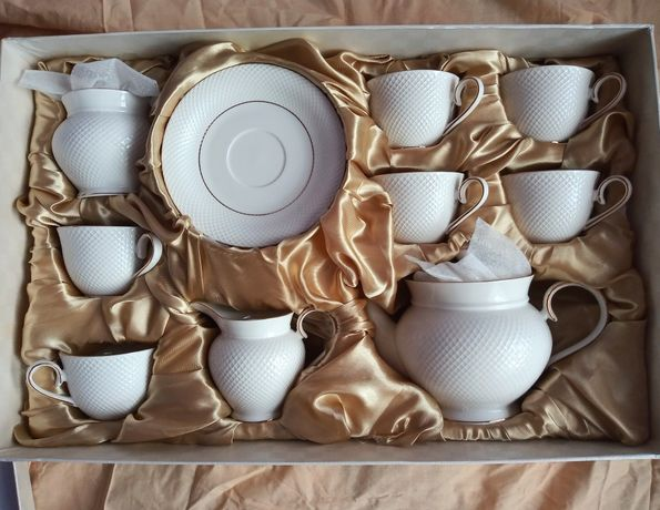 Komplet filiżanek zestaw do kawy