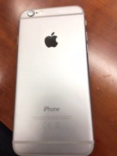 iPhone 6 cinza claro desbloqueado