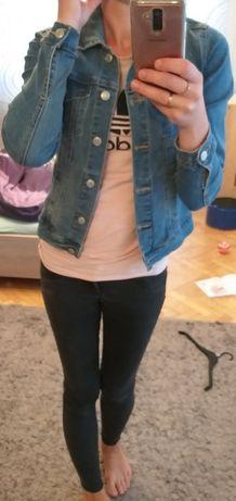 Tally Weijl 34 xs jeansowa katana kurtka dopasowana