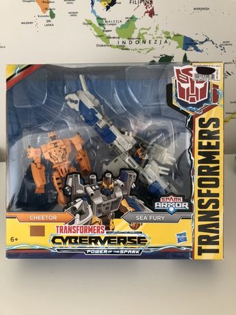 Zabawka transformers Cyberverse