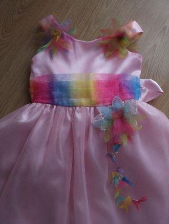 Sukieneczka dla dziewczynki rozm.+/- 104 cm