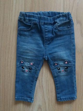 Джегинсы джинсовые лосины для девочки фирмы H&M, размер 68 (4 -6 мес)