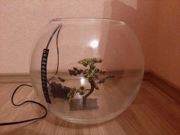 Ваза акваріум фільтр ціна 750 грн