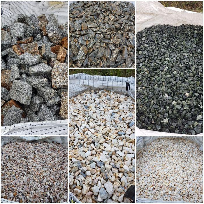 Kamień ozdobny DEKORACYJNY frakcja 8-16, 16-22, 22-32, 32-64 transport Piła - image 1