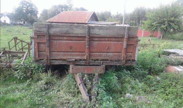 Прицеп одновісний до трактора