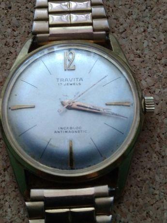 Zegarek męski Travita 17 Jewels Antimagnetic.
