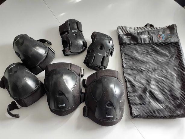 Ochraniacze na nadgarstki, łokcie, kolana