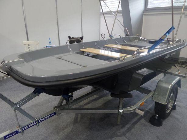 Łódź łódka wiosłowa wędkarska POLPORT 290 NOWOŚĆ