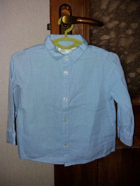 Рубашка Zara, на мальчика 86р