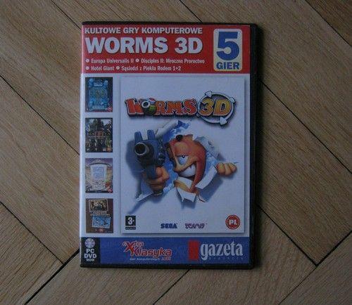 Worms 3D Sąsiedzi z Piekła Rodem 1+2 Disciples 2 Europa Universalis 2
