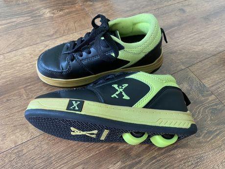 Кроссовки-ролики Heelys Sidewalk sports 32 размер