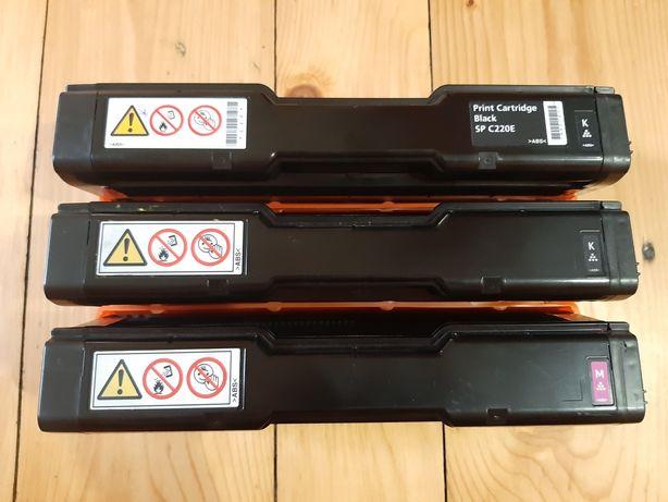 Ricoh Aficio Картридж тонер SP C220E Magenta (Красный) Черный (Black)
