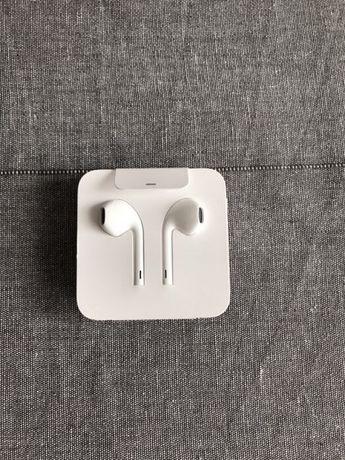 Słuchawki EarPods iPhone 7/8/X/Xs NOWE Oryginalne Przejściówka