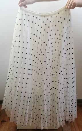 Spódnica tiulowa w groszki