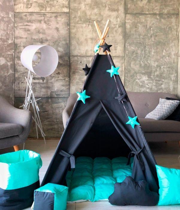 Домик , детский вигвам, палатка, типи. Отправка в день заказа. Харьков - изображение 1