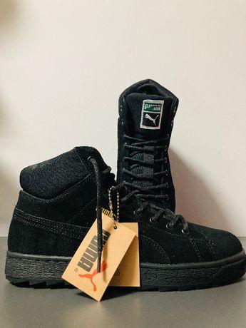 Чоловічі кросівки зима Puma Suede (ботинки)